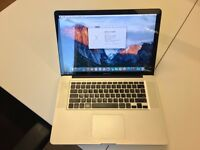 MacBook Pro 15'' 2.2 GHz i7 4gb DDR3 500gb SATA 120gb SSD