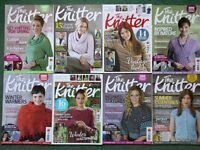 The Knitter magazine - job lot 45 issues in total