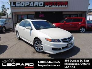 2008 Acura TSX Sunroof,Leather,Bluetooth*Certified*