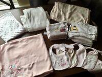 Baby blankets, muslins & bibs
