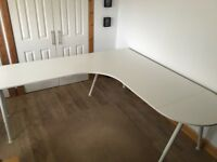 IKEA galant extended desk