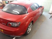 2004 Mazda RX8 231bhp ideal track drift project car or for parts MOT to late July