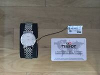 BRAND NEW!! Tissot Desire Watch - Stainless Steel Face and Bracelet