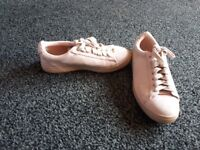 Pink trainers size 3