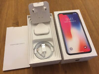Apple iPhone X 256GB Space Grey - Factory Unlocked, AppleCare+ until Nov 2019, Immaculate condition