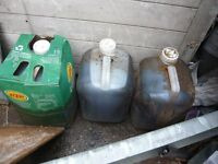 Used Veg Oil 45ltrs.