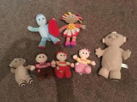 In the Night Garden cuddly toys