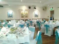 TABLECLOTHS FOR HIRE - WHITE - FROM £4.00 each - WEDDINGS