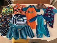 Boys swimwear bundle