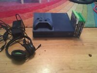 forza adition xbox one mint condition, turtle beach headset and 4 games
