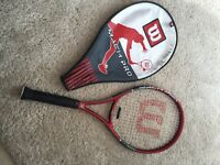 Wilson mach pro tennis racket