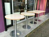 Modern Cream café table