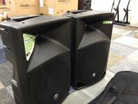 Mackie Thump 15 V3 / Thump-15 , 1000w Active PA Loudspeakers with Original Mackie Bags.