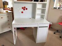 Ikea children's desk with shelf & whiteboard
