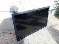 24 inch flat tv with built in DVD player