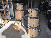 stagemaster drum kit with hardware