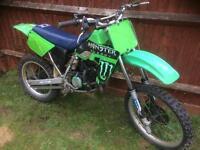 Kawasaki kx 100 86/89
