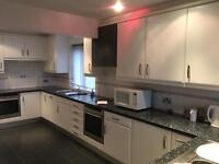 White Slab Fitted Kitchen, Work tops And All Integrated Appliances RRP £25,000