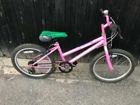 "Saxon Kalutara Girls 20"" wheel Bike. Serviced, Good Condition. Free Lock, Lights, Delivery"