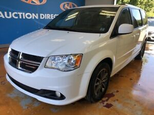 2016 Dodge Grand Caravan SE/SXT DVD/ LEATHER/ 2ND ROW CAPTAIN...