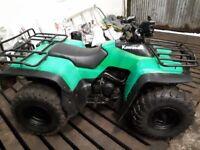 Kawasaki KLF 300cc farm quad