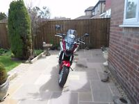 Honda NC750X 2016 only 280 miles from new, as new condition
