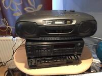 Cassette deck Aiwa, Sony, Panasonic