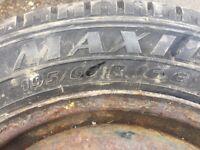 Matador part worn tyre 195 60 16 C light truck