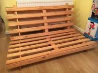 Wooden Double Futon Frame