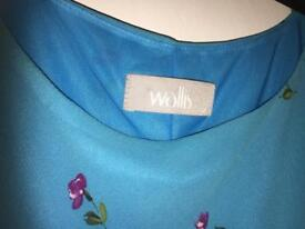 Wallis size 12 co cord top and skirt