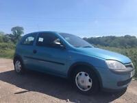 Vauxhall Corsa Hatchback 2001C 1.2 i 16v Club 3dr 12 months test cheap