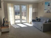 NEW, FURNISHED AND EQUIPPED ONE BEDROOM SERVICED APPARTMENT - SOUTHSEA. 2 MINS FROM THE BEACH.