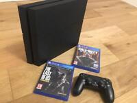 PS4 500GB With COD and Last Of Us For Sale