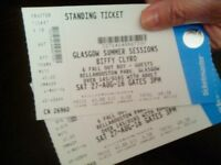 2x BIFFY CLYRO & FALL OUT BOY tickets