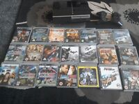Playstation 3 console with 2x controllers loads of games collect ml5