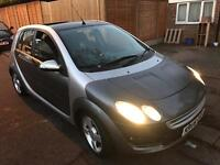 Smart forfour 1.1 passion, 2006, silver/grey, manual, 5 door hatch, 85k s/h, 1 yrs mot,
