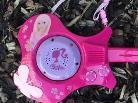 BARBIE ROCK STAR MUSIC AND SOUND GUITAR