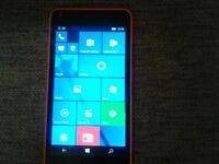 Microsoft Lumia 640 on 02 .