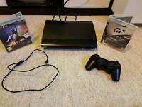 Superslim ps3 12gb upgraded to 40gb