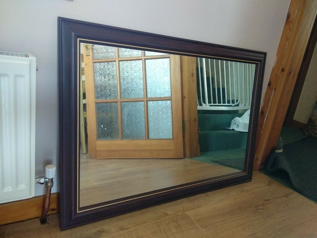 Lovely Large Mahogany Mirror In Perth Perth And Kinross