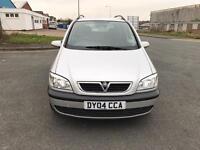 Vauxhall Zafira petrol