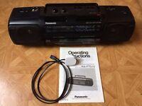 Panasonic RX-FT510 Stereo Radio Cassette Recorder