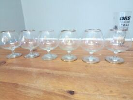 napolean brandy glasses