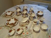52 piece china tea set