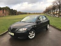 2005 MAZDA 3 TS 1.6 PETROL, MANUAL, 5-DOOR HATCHBACK ***LONG MOT*** GENUINE 69,000 MILES ONLY