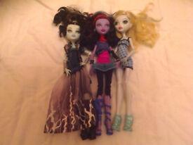 Monsters High Dolls