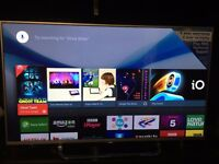 "New Sony 43"" 4K Android Smart LED TV with Kodi Installed for free sky channels// Brand new"