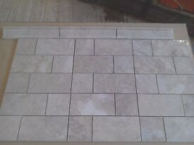 Capuccino Marble tiles homed finish
