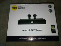 YALE HD CCTV TWIN PACK Y402A-HD PLUS EXTRA 2 CAM.