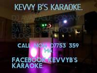 Kevvy B's Karaoke.